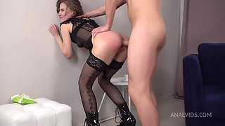 Anastasia Mistress Hard Fucked In The Ass + Spanking +
