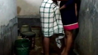 Jija Sali in Bathroom part -1