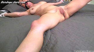 Young Girl Captured Bed Bound and Forced to Cum Over and Over Again