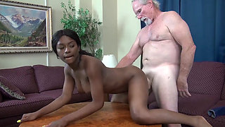 Evi Rei loves being fucked by old men