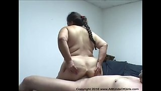 Mexican granny maid gets anal abused720p