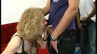 Gaping Anal Granny In Nylons