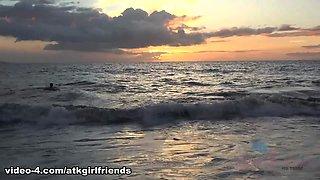 Samantha Hayes in Virtual Vacation Movie - AtkGirlfriends