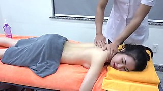 Romantic Chinese massage