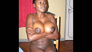 These African beauties have got big tits and asses and they are hardly shy
