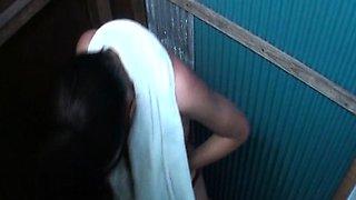 Shower Room Hidden Camera Installed