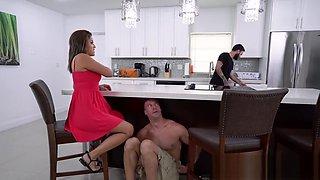 Latina wife cheating on huge dick