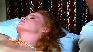 Lisa De Leeuw, John Leslie in retro porn star bangs a