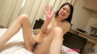 Japanese Cougar Gets Her Hairy Pussy Banged Hard
