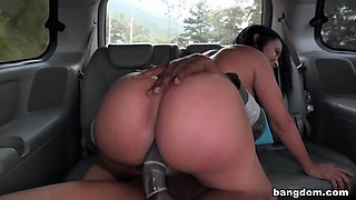 The BangBus in Colombia Fucking A Big...