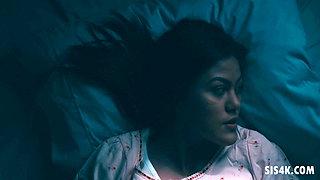Lesbo scissoring before sleeping - Alina Lopez, Kendra Spade