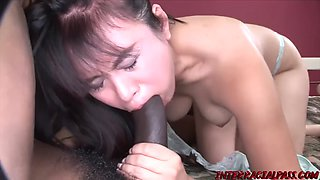 Big Black Cock for Asian pussy