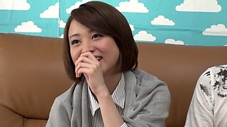 Crazy Japanese whore in Incredible Cunnilingus, HD JAV clip