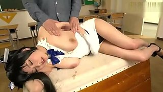 Best Japanese chick in New BDSM, Bukkake JAV scene only here