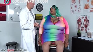 Ebony Bbw Gets Fucked By The Doctor