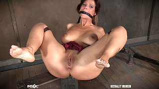 bound slave is in for a treat