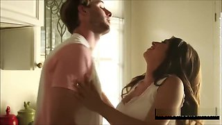 Big tits sister fucked hard by Brother