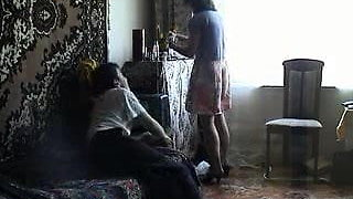 (maturescreen) russian on bed By CDM