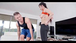 Jade kush in sexy asian fitness fuck guru
