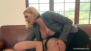 Fabulous fetish, squirting xxx scene with crazy pornstars Amy Brooke, James Deen and Krissy Lynn from Everythingbutt