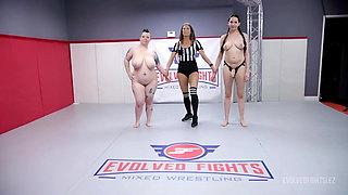 Women Wrestling with Pussy Eating Kyra Rose vs Nikki Sequoia