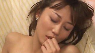 Yui Seto Japanese doll has anal sex