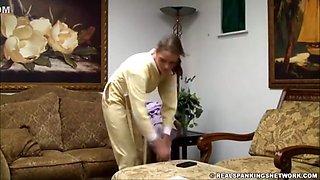 Rsn - Syrena Get Punished In Her New Drop Seat Pajamas