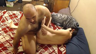 Father Forced Daughter To Blow and Take Cock