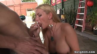Babysitter Blow Job Blake Rose