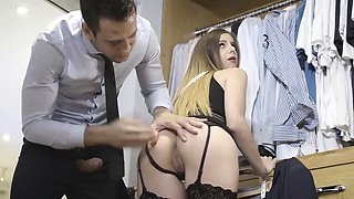 Babes - Office Obsession - The Measure of a M