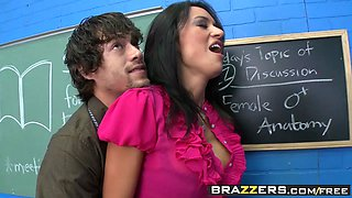 Big Tits at School - Franceska Jaimes Xander Corvus - Spanish Teacher Loving - Brazzers