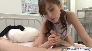 Miki Ishihara naughty Asian nurse is into hot porn
