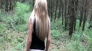 Busty Stunning Blonde Milf Enjoying Hard