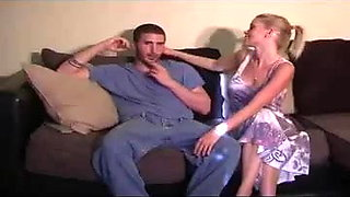 Sexy mom seduces not her son and gets pregnant