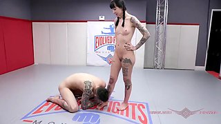 Charlotte sartre nude wrestling and foot fetish play