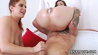Cream squirting from nasty sluts' assholes!