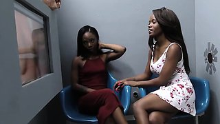 Jezabel Vessir and Sarah Banks - Gloryhole Initiations