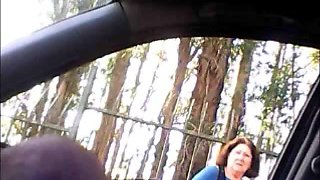 Handling my big fat prick in the car