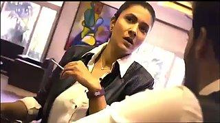 Indian office milfs fuck innocent boy