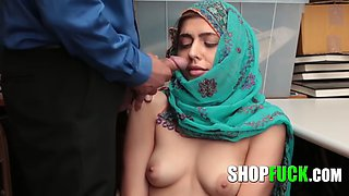 Innocent Muslim Girl Was Tricked And Fucked By A Corrupt Cop SHOPFUCK