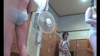 Japanese Bath House Hidden Cam 3!