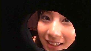 Hottest Japanese slut Hikari Mizuno in Amazing Cumshots, Glory Hole JAV movie