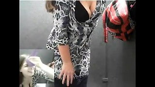 Public Bathroom Dildo Masturbation Orgasm