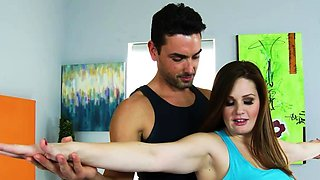 Naughty America - Allison Moore gets a creampie