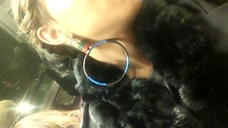 red lipstick black girl