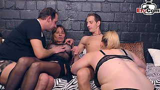German swinger party with couples