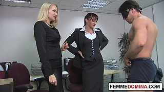 Office Femdom Demands Oral Sex In The Workplace