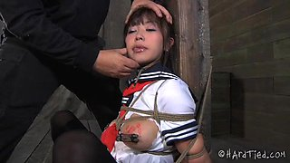 Asian Schoolgirl Punished And Mouth Fucked