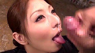 Hina Akiyoshi in Thick Semen Shower Special part 1.3