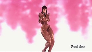 Futa Dance Girls - Horny 3D anime sex world